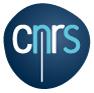 Logo CNRS (Centre national de la recherche scientifique)
